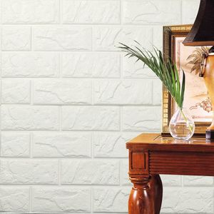STICKERS PE mousse 3D fond d'écran DIY Wall Stickers Wall D