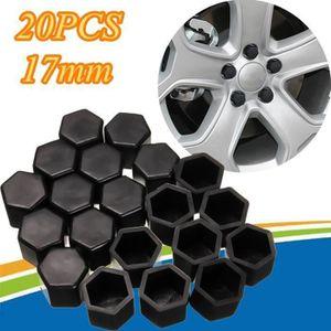 Cache-vis for pneu D/écor for Peugeot 307 308 408 206 207 Cache-/écrous Cache-/écrou de roue 20Pcs