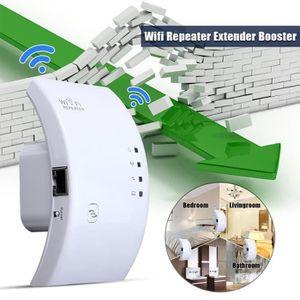 REPETEUR DE SIGNAL Repetiteur WiFi Puissant Sans Fil N802.11 Signal A