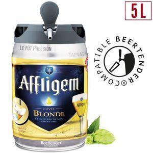BIÈRE Affligem Bière blonde d'abbaye - Fût 5L compatible