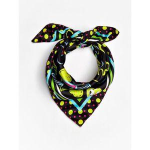 ECHARPE - FOULARD Guess - Petit foulard carré tendance femme en soie