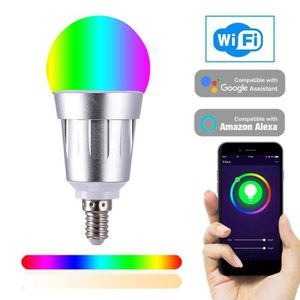 AMPOULE - LED 2194 Smart WIFI Ampoule LED WIFI Lumière RGB Multi