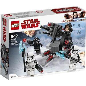 ASSEMBLAGE CONSTRUCTION LEGO® Star Wars™ 75197 Battle Pack experts du Prem