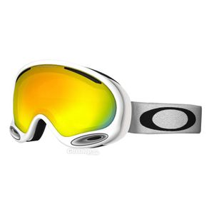 MASQUE - LUNETTES SKI Masque Oakley A Frame 2.0 Polished White   Fire. 10d517a3d816