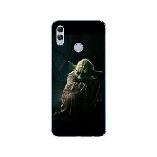 Coque Samsung Galaxy A20e Star Wars - Yoda sombre taille unique