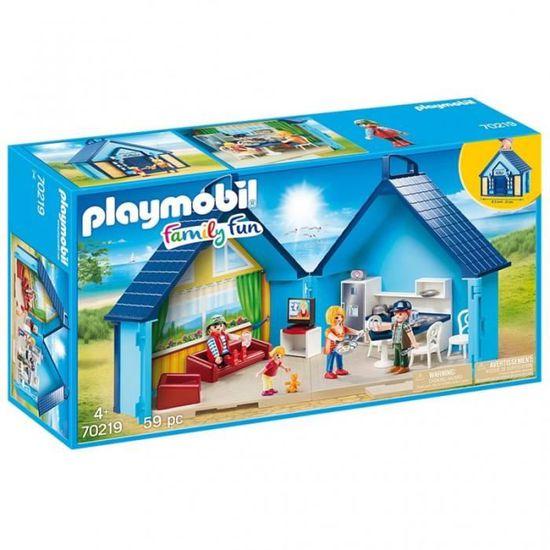 PLAYMOBIL 10 Family Fun - Maison Transportable FunPark