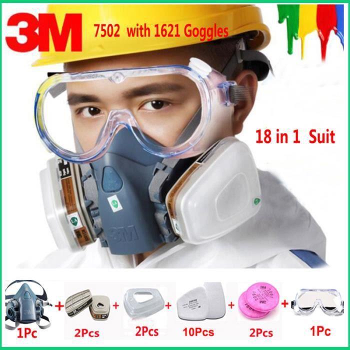 masque respiratoire 3m virus