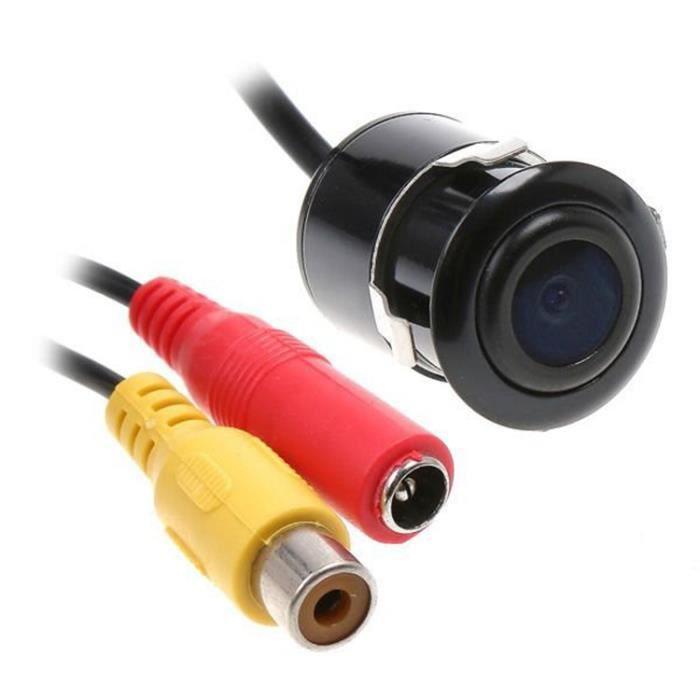 Caméra de voiture caméra de recul universelle 18,5 trous caméra de recul HD