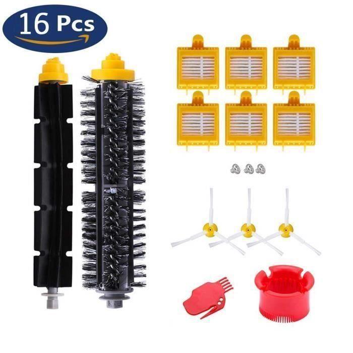 Remplaçant Filtres kit Pièces Accessoires pour iRobot Roomba série pour 700 720 750 760 765 770 772 772e 774 775 776 776p 780 782