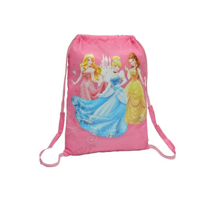 Gym bag Disney impression et logo Princess - Dimensions : 32x43cmTROUSSE A STYLO