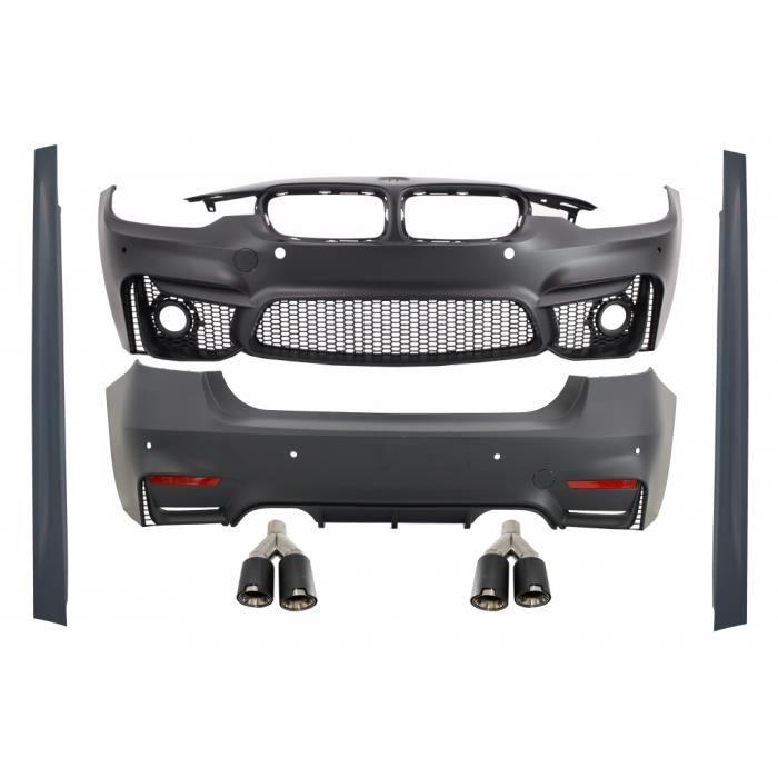 Kit Carrosserie Embouts d'échappement pour BMW F30 11+ EVO II M3 Design Carbone