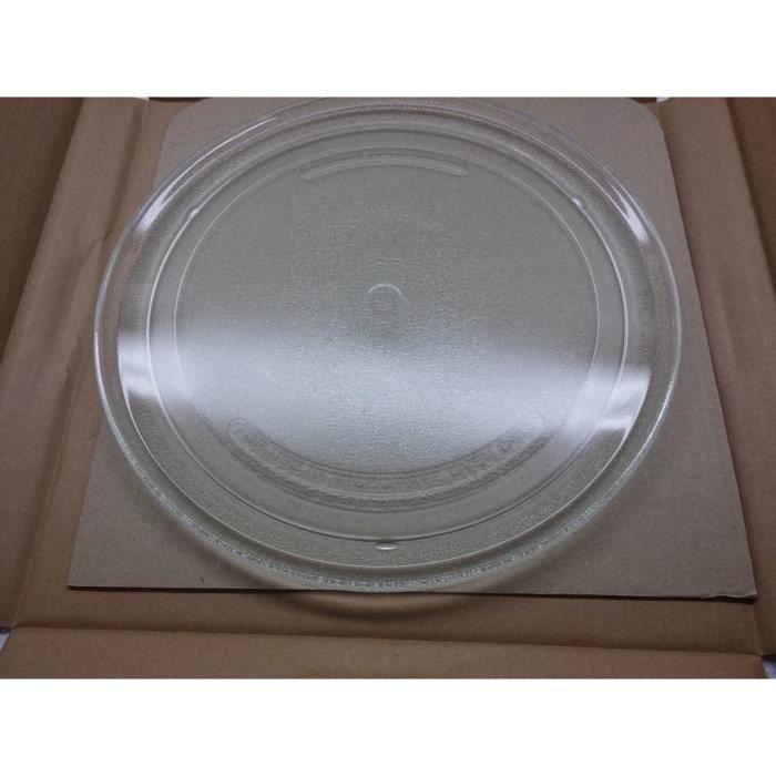 MICRO ONDES Plateau tournant en verre diam&egravetre 27 cm pour micro-ondes compact Whirlpool Ikea Bauknecht Hotpoint Ariston I196