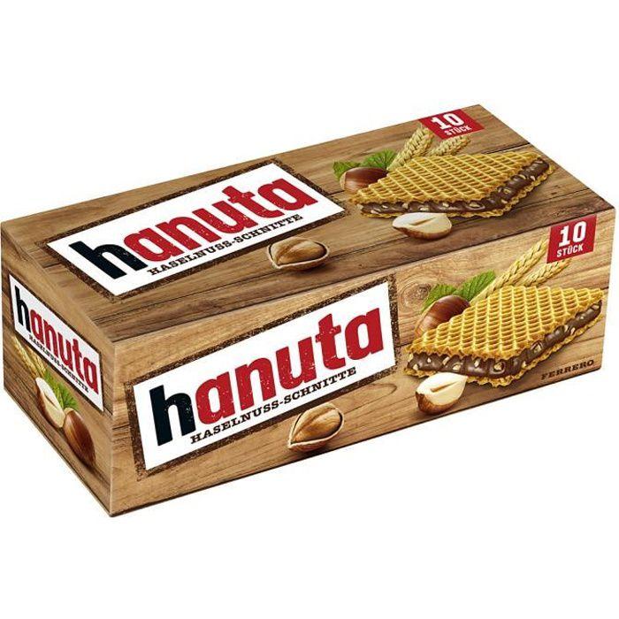 4x Ferrero Hanuta Barres aux noisettes 220g