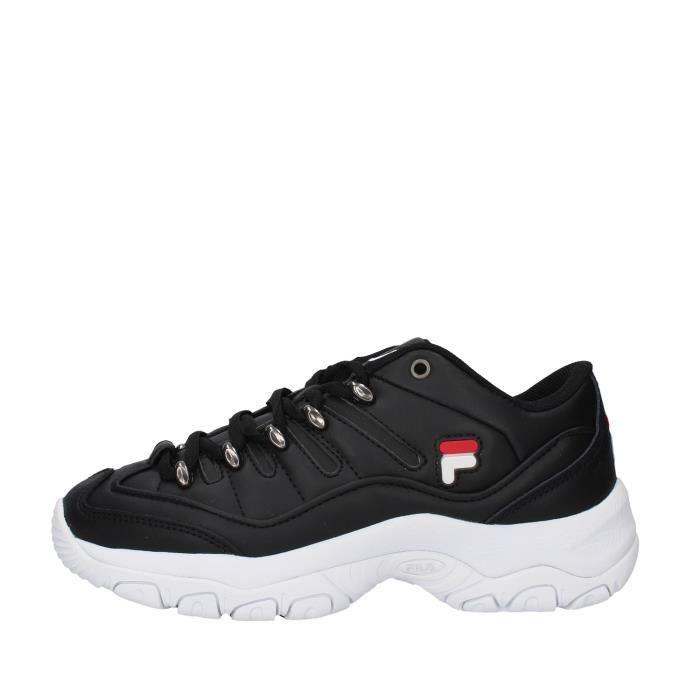 Fila 1010768 chaussures de tennis faible Femme NOIR