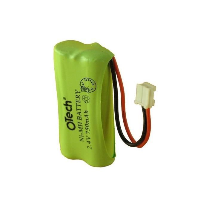Batterie pour baby phone model TOMY TF550 DIGITAL BABY MONITOR