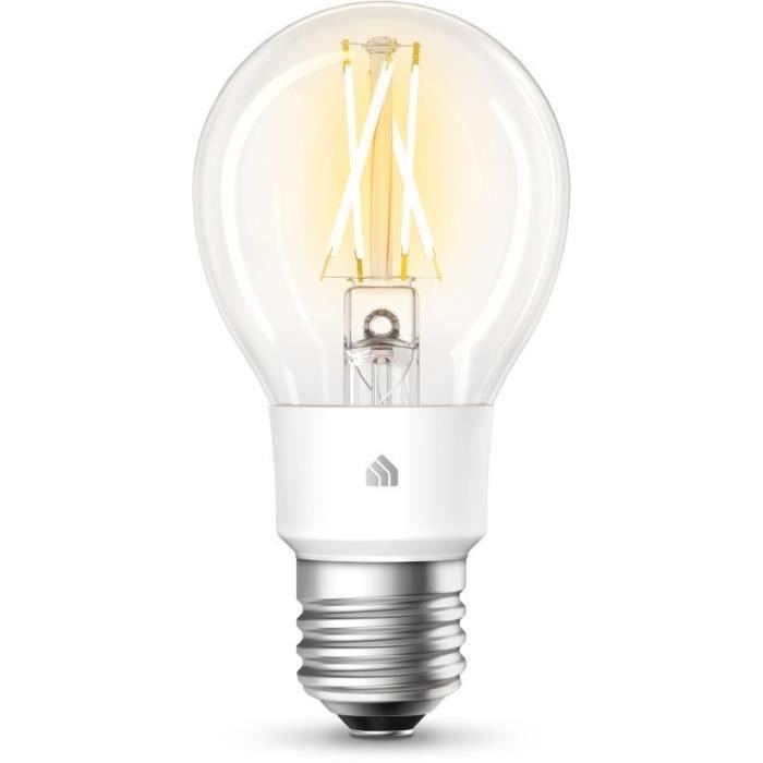 TP-LINK Ampoule connectée WiFi à Filament KL50 Kasa - LED - E27 - 7 W