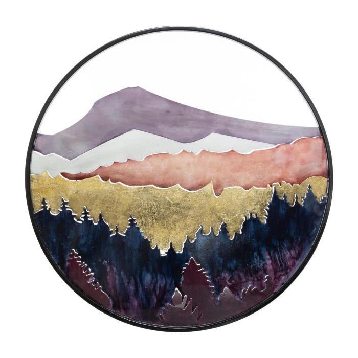 5 pièces La Fresque MDF nature et Paysage Décoration