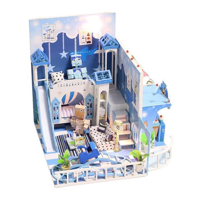 Habtiation miniature - La Maison Moderne - Cottage miniature ...
