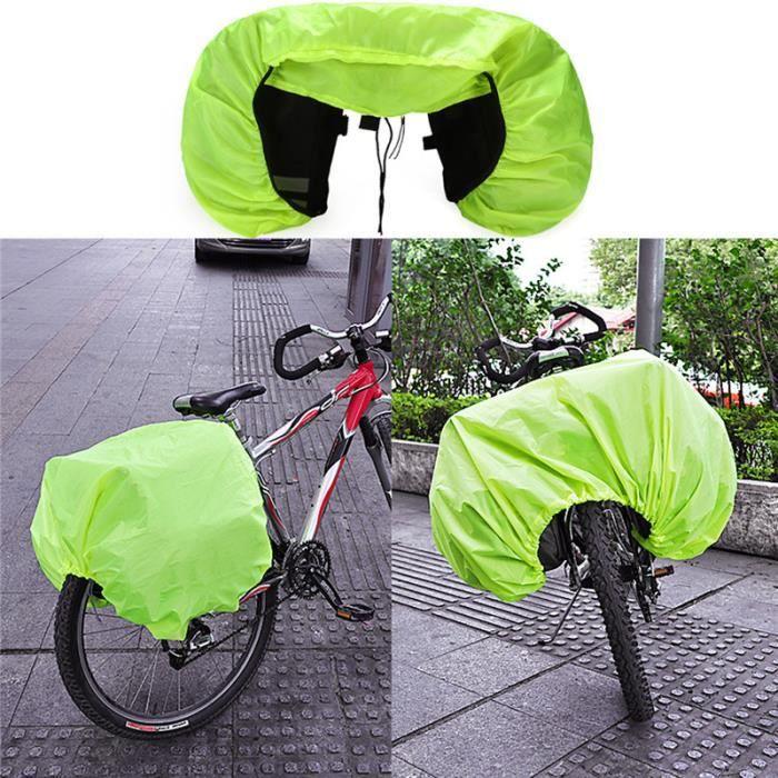 Maveek pour 3 Vélo Cycle Bicyclette Pluie Imperméable Protection UV Triple Vélos Couverture