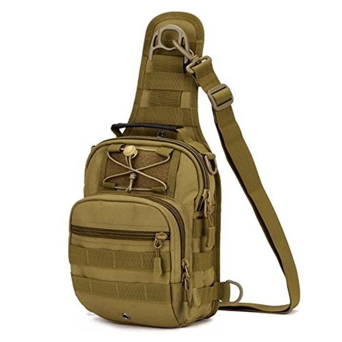 MOLLE Poitrine extérieure sac à bandoulière sac bandoulière Camping