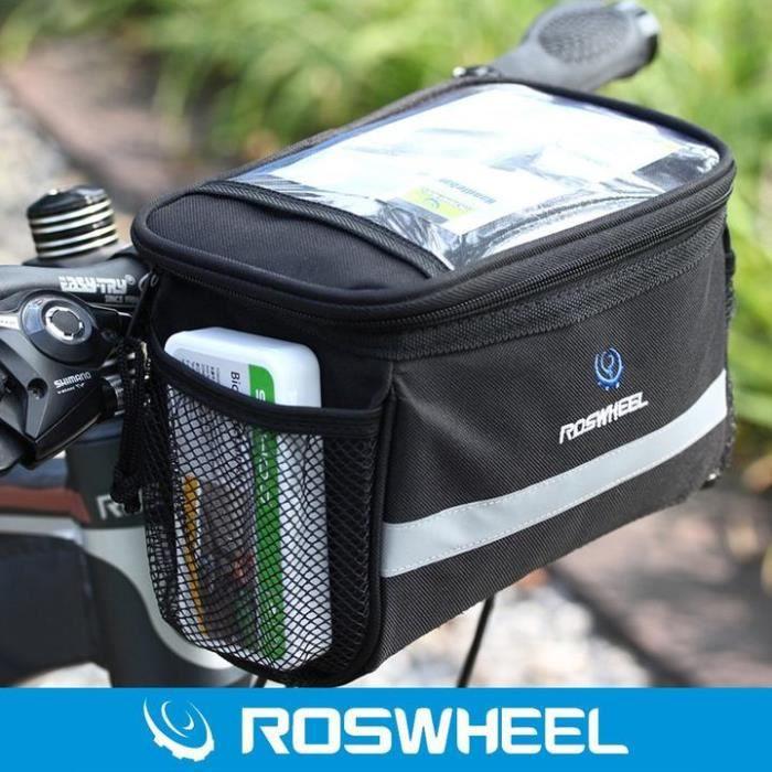 ROSWHEEL 15 L unique Bagage Sac léger vert Rack Sac Vélo 14891-G