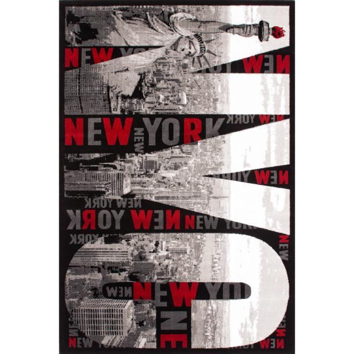 NEW YORK CITY Tapis moderne dessin Tapis de salon Poil plat ...