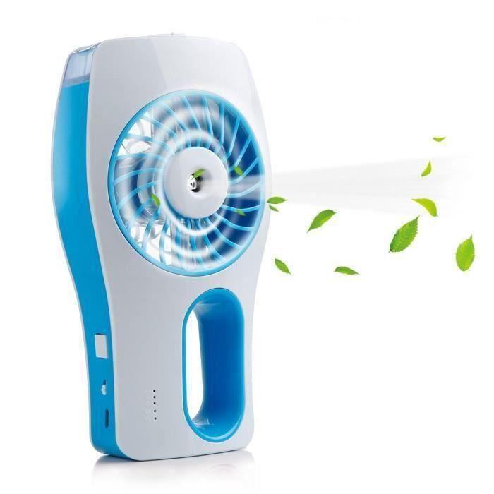 VENTILATEUR KIN Mini Ventilateur Brumisateur à Main - Recharge
