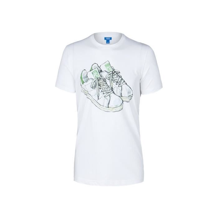 Tee-shirt Adidas Stan Smith - Achat / Vente