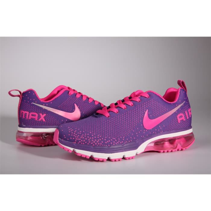 Femme Nike Air Max 2018 Sports Sneakers Running Chaussures Violet