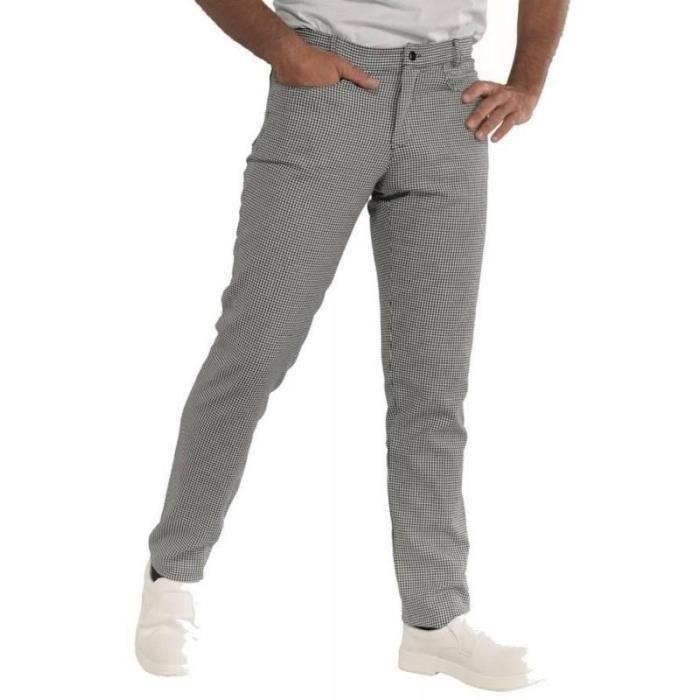 pantalon homme pied de poule