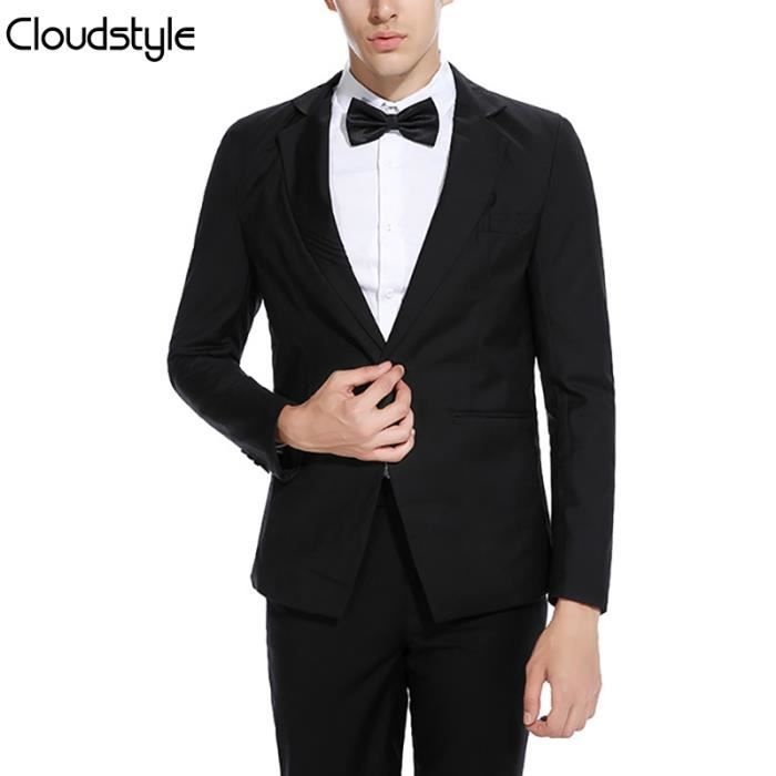 2018 nouvelle veste de costume homme de mariage d 39 affaire coupe slim fit col revers tailleur. Black Bedroom Furniture Sets. Home Design Ideas