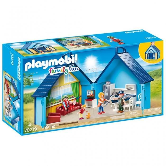PLAYMOBIL 8 Family Fun - Maison Transportable FunPark