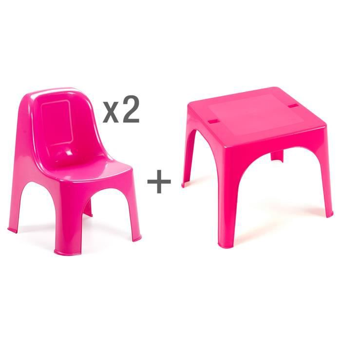 salon de jardin premium fuchsia pour enfants achat. Black Bedroom Furniture Sets. Home Design Ideas