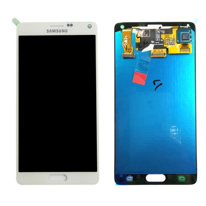 Ecran lcd vitre tactile samsung galaxy note 4 n910f d for Photo ecran samsung 7