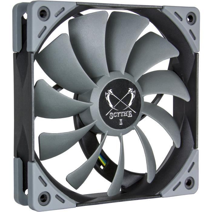 VENTILATION  SCYTHE Ventilateur pour boitier PC Kaze Flex - PWM