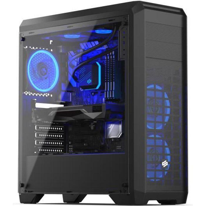UNITÉ CENTRALE  PC Gamer, AMD Ryzen 5, GTX1050Ti, 2To HDD, 16 Go R