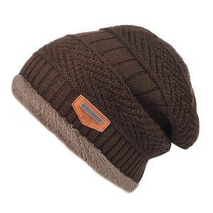 Hommes et Femmes Jack Daniels Logo Skull Beanie Hats Bonnets tricot/és dhiver Bonnet de Ski Doux et Chaud Noir