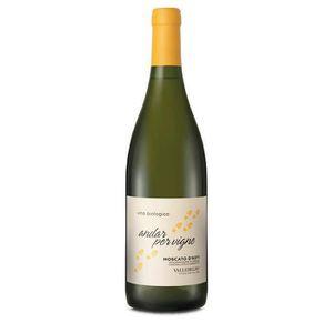 VIN BLANC Vin blanc italien Moscato d'Asti Biologico Vallebe