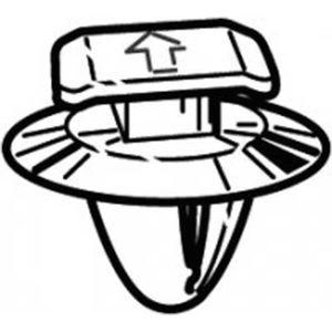KIT DE VISSERIE fixation de moulage de couleur à bonnet kit d'admi