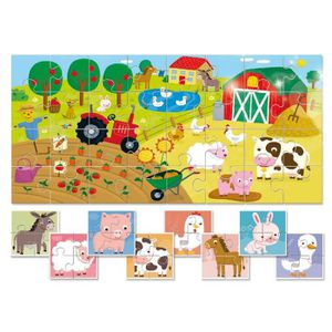 PUZZLE Puzzle 32 pièces Pièces XXL - 9 Baby Puzzles - La