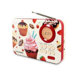 RADIO CD CASSETTE METRONIC 477219 Radio CupCake