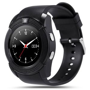 MONTRE CONNECTÉE Montre intelligente-V8 Montre Connectée Smartwatch