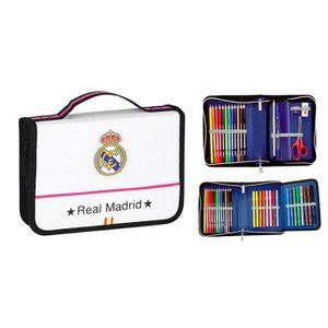 KIT DE DESSIN Real Madrid Mallette Dessin 34 Pièces 22x15x5