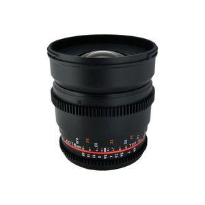 OBJECTIF Obj SAMYANG 16mm T2.2 VDSLR Nikon (APS-C