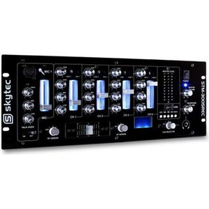 TABLE DE MIXAGE Skytec STM-3005REC Table mixage 4 pistes DJ USB