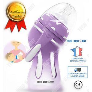 BIBERON  TD® Biberon verre anti colique bebe baby shower 6