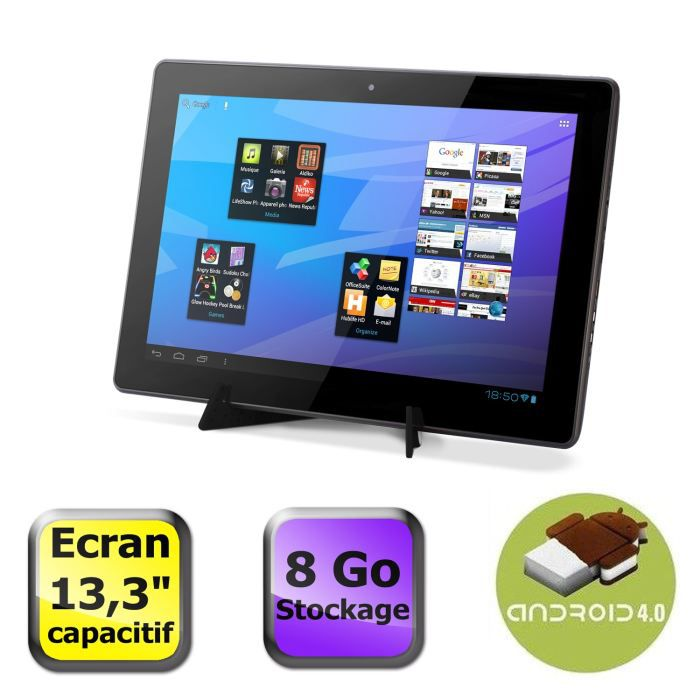 informatique tablettes tactiles ebooks arnova familypad  go f