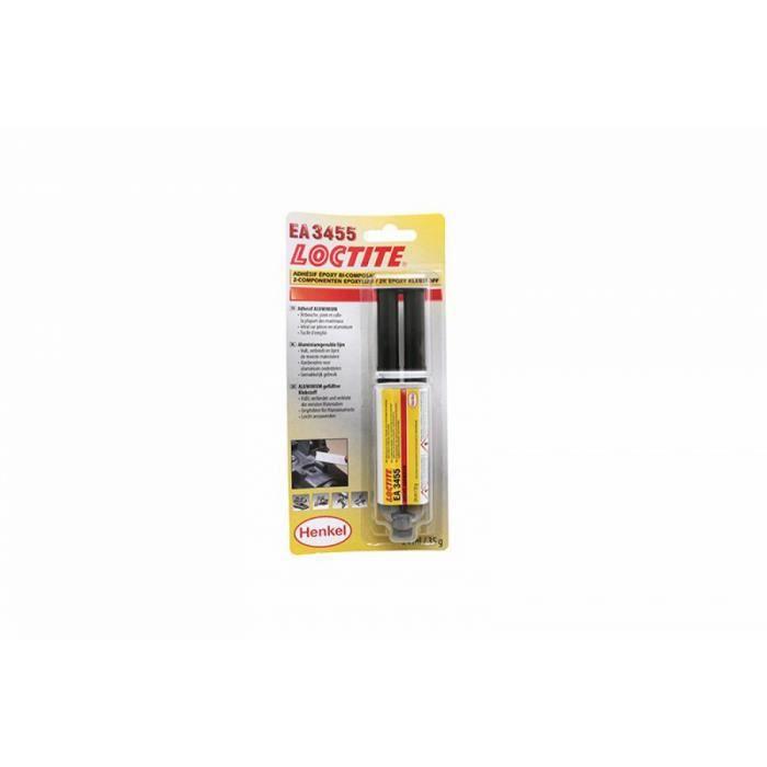 DEGRIPPANT Epoxy/Colle Loctite EA 3455 Alu gris ALGI