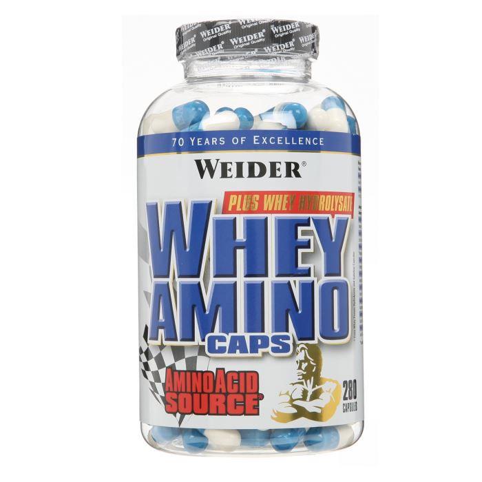 WEIDER Acides aminés Whey Amino caps 280 gélules NTT