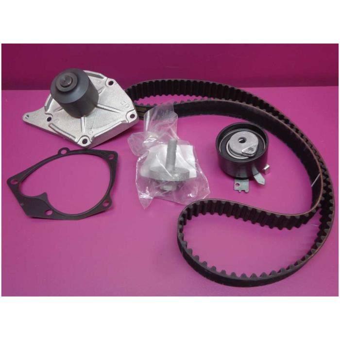 Kit de distribution complet avec pompe à eau Renault Scenic II 1.5 DCI 82 à 106 cv après 6/03